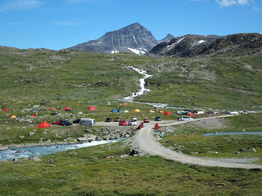 Camping på Krossbu